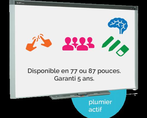 tableau blanc interactif tbi smartboard sbx885