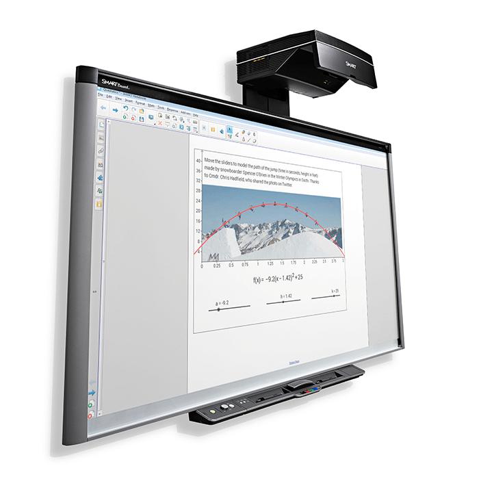 tableau blanc interactif tbi smartboard sbx885ix2
