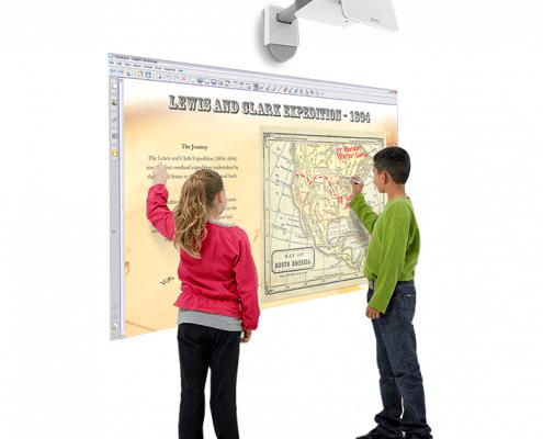 vidéoprojecteur interactif vpi smar t lightraise slr60wi et slr60wi2