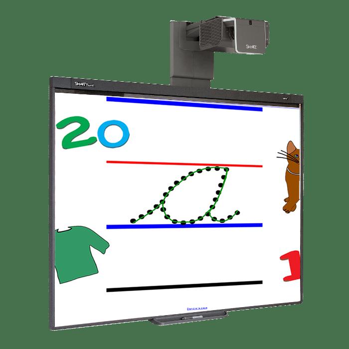 tableau blanc interactif tbi smartboard sb480